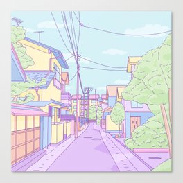 Lost in Japan Canvas Print