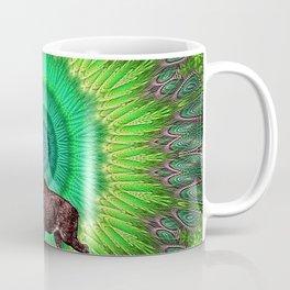 Moose Colorful Geometry Pattern Coffee Mug