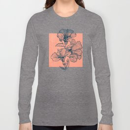 Hibiscus Colors Long Sleeve T-shirt