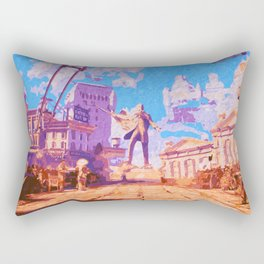 Columbia - The City in the Sky Rectangular Pillow