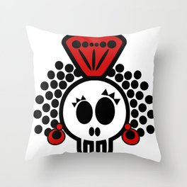 ***I´LL CARRY  on DANCING FLAMENCO even in  the GRAVE*** Throw Pillow