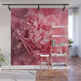 Peony Photography | Hot Pink Flower | Floral Art Print | Nature | Botany | Plant Wall Mural