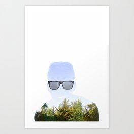 """Cloudmouth"" Art Print"