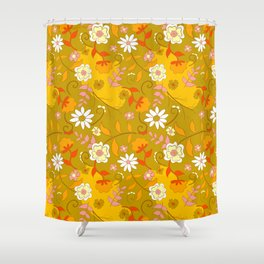 70's Living Shower Curtain
