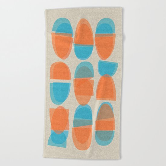 Chinese Bowls Beach Towel