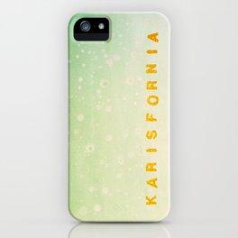 Karisfornia iPhone Case
