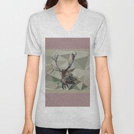 Cervus Elaphus Unisex V-Neck