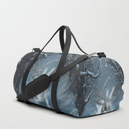 Wonderful ice dragon Duffle Bag