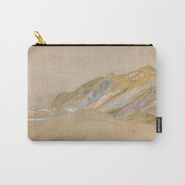 Samuel Palmer - Mountains By The Traveller's Rest Near Dolgelly - Digital Remastered Edition Carry-All Pouch