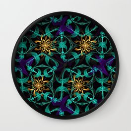 The Ties That Bind Wall Clock