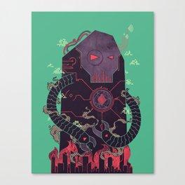 Operate, Annihilate Canvas Print