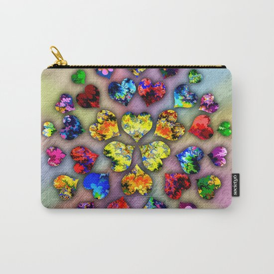 heart beat II Carry-All Pouch