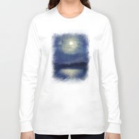 magnolia Long Sleeve T-shirts featuring Magnolia by Viviana Gonzalez