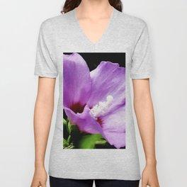 Rose Of Sharon A Summer Bloom Unisex V-Neck