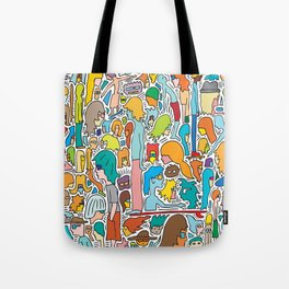 Morning Report Color Tote Bag