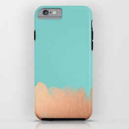 Juicy Sorbet - Rose Gold iPhone Case