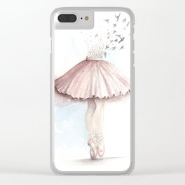 The Dancer Clear iPhone Case
