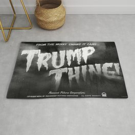 Trump Thing! with subtitle Rug