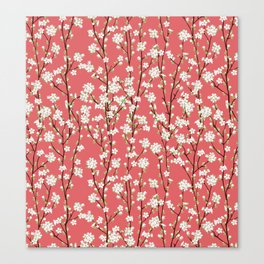 Go Orient Cherry Blossoms Canvas Print
