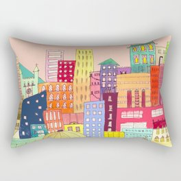 downtown Rectangular Pillow
