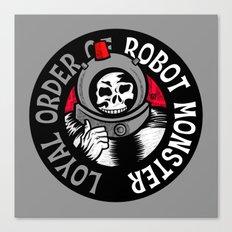 Loyal Order of Robot Monster Canvas Print
