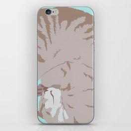 Buff Tiger iPhone Skin