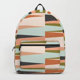 Scandinavian Geometry Pattern green #Homedecor Backpack
