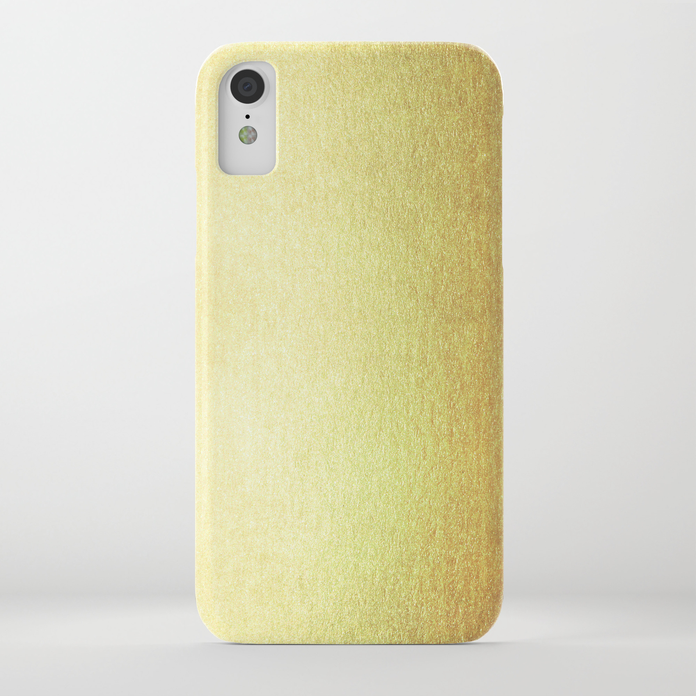 new product f5adb 87ebb Simply 24K Gold iPhone Case