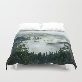 The Rolling Gray Duvet Cover