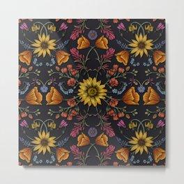 PNW Wildflowers of Washington & Oregon Metal Print