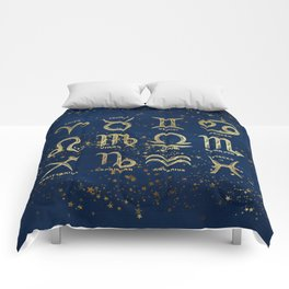 The 12 Zodiac Signs Comforters