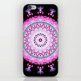Neon Tree Mandala iPhone Skin