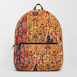Kerman South Persian Garden Rug Print Backpack