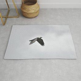 the crow Rug