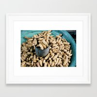peanuts Framed Art Prints featuring Peanuts by Erica Goldberger