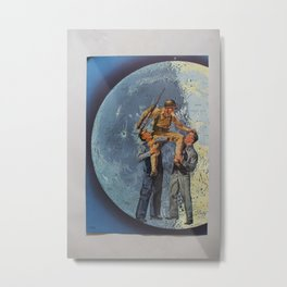 Carry Me to the Moon Metal Print