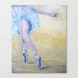 Inspired by Degas - Ballerina in Flight Canvas Print