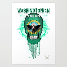 To The Core Collection: Washington Art Print