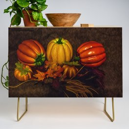Autumn Pumpkins Credenza