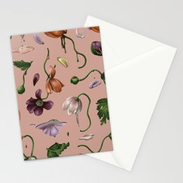 Melting Poppies Stationery Cards