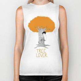 TREE LOVER - fall version Biker Tank