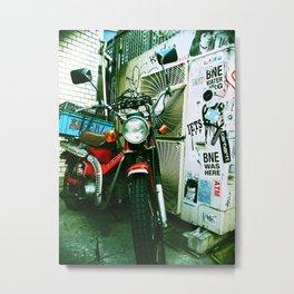 harajuku bike Metal Print