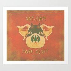 GOT-HAM-022 Art Print
