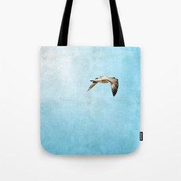 Bird in flight ;Into the Mystic Tote Bag