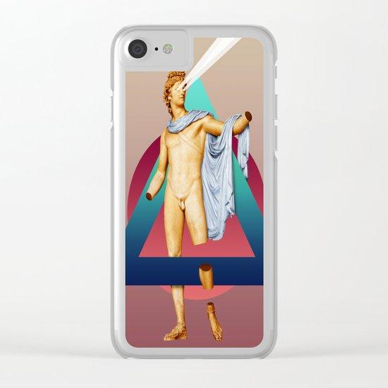 Apollo Belvedere Clear iPhone Case