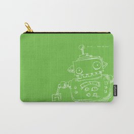 Fun Robots Carry-All Pouch