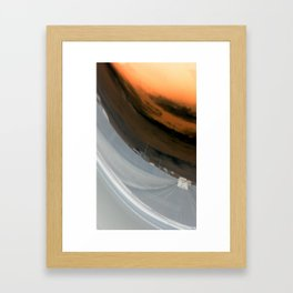 Distorted View Framed Art Print