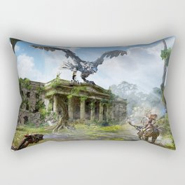 Dublin [Horizon Zero Dawn] Rectangular Pillow