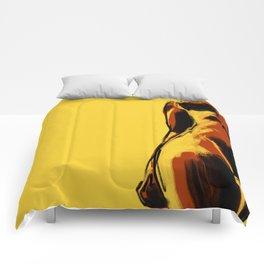 Swimmer #2 Comforters