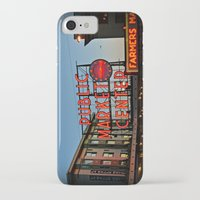 seattle iPhone & iPod Cases featuring Seattle by FortuneArt&Photography